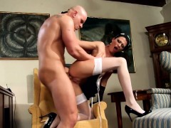 Sexy Maid Naomi Fucking In Stockings And Heels Online