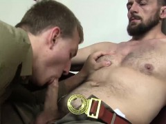 Ryan Torres Sits On Erics Cock And Rides It Nice And Deep