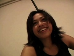 hot filipino in cute striptease