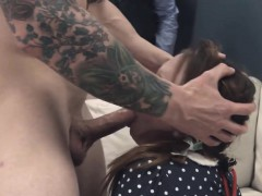 amazing bdsm anal action in gangbang