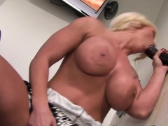 Blonde Strokes Black Dick