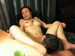 adorable-asian-wife-with-nice-boobs-has-her-man-eating-out