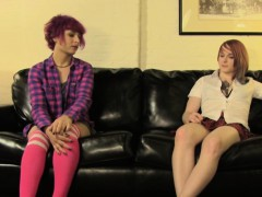 twosome-emo-tgirl-cumdrops-while-assfucked