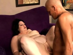 Chubby Brunette With Big Breasts Matalla Fully Enjoys A Deep Drilling