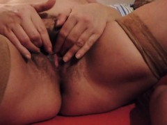 Busty Bbw Milf Playing With Her Wet Pussy