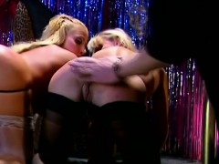 bodacious-blonde-strippers-in-stockings-enjoy-a-good-spanking-on-stage