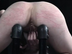 restrained-submissive-rubbing-her-pussy