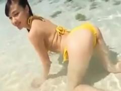 18yo Jav Idol Cute Beach Tease – FreeFetishTV.com