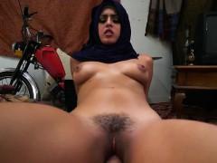 sensual arab sophia leone straddles hung messenger