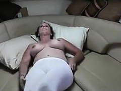 Mature Couple Fuck On The Couch