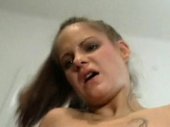 monster tits sister gets too close to her brother