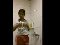 18yo Chinese Girl Striptease In Shower – FreeFetishTVcom