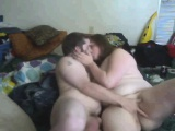 Cute bbw and her bf show off for f Delana
