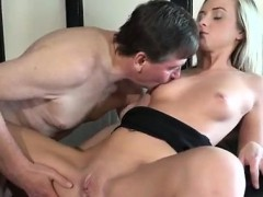 Dirty Teen Brunette Anal Woody Is Selling Boots To Vinna But