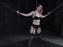 enslaved-sub-restrained-and-spanked