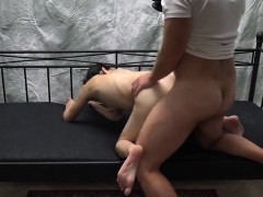 perfect czech bitch gets seduced in the mall and screwed in p