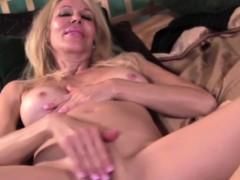 Blonde Ellen Deep Throats A Cock