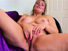 big-natural-titted-blonde-mature-masturbating