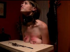 nailing-her-breasts-towards-the-table-2