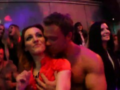 Sexy Girls Get Fully Foolish And Stripped At Hardcore Party