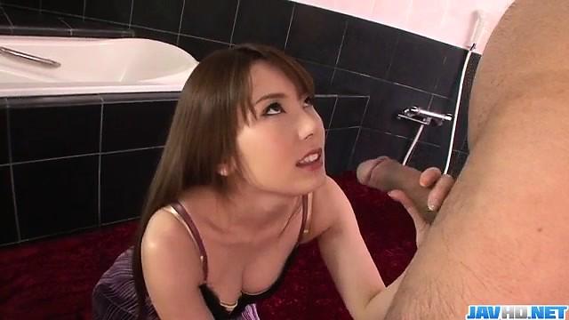 波多野結衣に沿った純粋なフェラチオのハメ撮り場面-3246036-ポルノ屋
