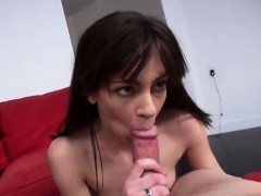 step mom caught slut hannah sucking dick threesome