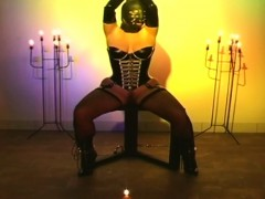 Big Tits Masked Latex Slut Bondage Bdsm Maledom