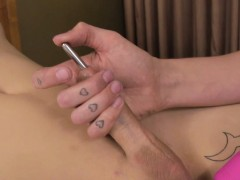 kinky-shemales-stimulate-penis-with-a-rod