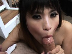 Hot Asian Floozy Got Her Wte Pussy Poked Up
