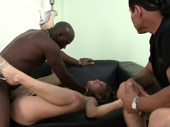 blonde wife nailed by black guy