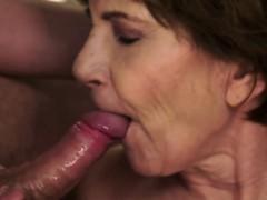 bigtits-grandma-sucking-cock-on-her-knees