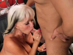 Sally Gets Her Old Cunt Fucked Hard