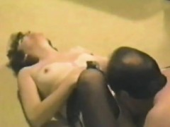 girlfriend that was brunette gets banged from behind in sex