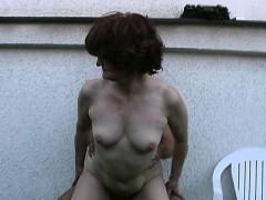 old granny backdoor sex porn