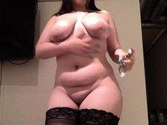 bbw-showing-her-fat-ass-and-rides-her-toy