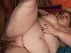 Stud Fingers And Fucks Luscious Muff Of One Nasty Fat Woman