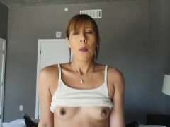 Perky Tits Teen Stepsis Demi Lopez Drilled Hard By Fat Cock