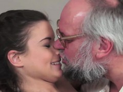 Hot Teen On Top Of Old Fart