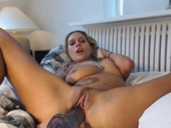 Big Tit Puma Plays With Her Holes