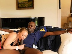 Big Ass Cowgirl Interracial With Cumshot