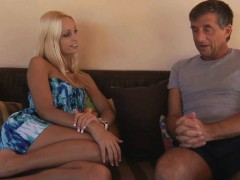 Old And Young Porn Blonde Young Anal Fuck With Old Man