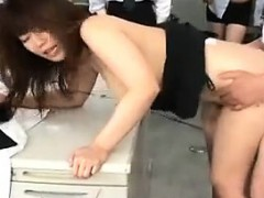 Cute Japanese Girl With Big Boobs Takes A Hard Pounding In