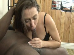 Horny Brunette Milf Wants To Earn Some Cash On Bbc