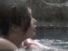 asian lesbians in shower
