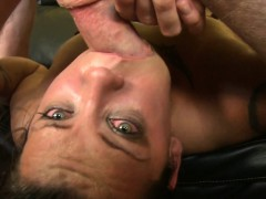 Breanna Upside Down Zombie Mouth Fuck