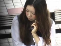 Japanese Student Urinates