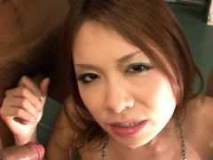Miharu Kai Is Here Today To Suck Of Several Guys At Once.
