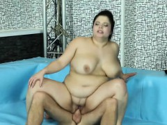 Natural Titted Bbw Brunette Fucking With Wrestling Judge