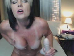 sperm eating and heavy squirting mature WWW.ONSEXO.COM