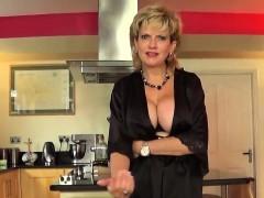 Unfaithful English Mature Gill Ellis Shows Off Her Huge Ball